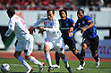 Martinez (Cerezo)/Adriano (Gamba), MARCH 5, 2011 - Football : 2011 J.League Division 1 match between Gamba Osaka 2-1 Cerezo Osaka at Expo '70 Stadium in Osaka, Japan. (Photo by AFLO)