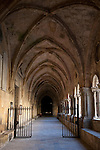 Cloister in Tarragona Cathedral in Catalonia, Spain