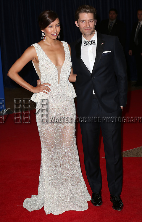 Renee Puente and Matthew Morrison attends the 100th Annual White House Correspondents' Association Dinner at the Washington Hilton on May 3, 2014 in Washington, D.C.