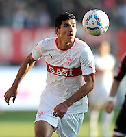 FUSSBALL   1. BUNDESLIGA  SAISON 2011/2012   10. Spieltag 1 FC Nuernberg - VfB Stuttgart         22.10.2011 Maza Rodriguez (VfB Stuttgart)