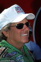 NORWALK, OH - JUNE 28: John Force at the Summit Racing Equipment NHRA Nationals on June 28, 2008, at Summit Motorsports Park near Norwalk, Ohio.