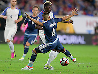 Houston, TX - June 21, 2016: The U.S. Men's National team loose to Argentina 0-4 and bow out of the 2016 Copa America Centenario in Semifinal play at the at NRG Stadium.