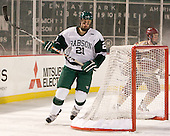 Troy Starrett (Babson - 21) - The Norwich University Cadets defeated the Babson College Beavers 4-1 on Friday, January 13, 2011, at Fenway Park in Boston, Massachusetts.