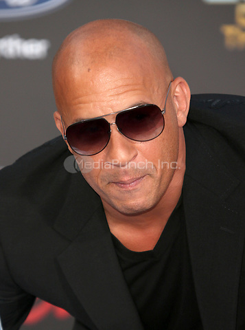 """HOLLYWOOD, CA - April 19: Vin Diesel, At Premiere Of Disney And Marvel's """"Guardians Of The Galaxy Vol. 2"""" At The Dolby Theatre  In California on April 19, 2017. Credit: FS/MediaPunch"""