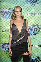 NEW YORK, NY-August 01:  Cara Delevingne at Warner Bros. Pictures & DC, Atlas Entertainment  presents the World Premiere of Suicide Squad  at the Beacon Theatre in New York. NY August 01, 2016. Credit:RW/MediaPunch