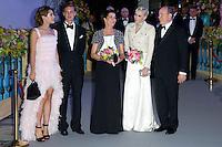 "The Princely family Of Monaco attends the "" Bal de la Rose du Rocher "" - Monaco"
