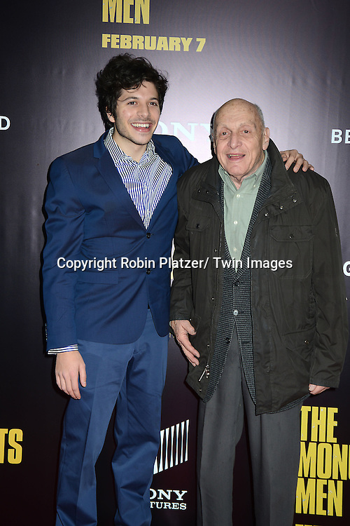 Dimitri  Leonidias and Harry Ettlinger, a Monument Man, attends the World Premiere of &quot;The Monuments Men&quot; <br /> on February 4, 2014 at the Ziegfeld Theatre in New York City.