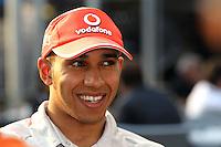 F1 GP of Australia, Melbourne 26. - 28. March 2010.Lewis Hamilton (GBR), McLaren F1 Team ..Picture: Hasan Bratic/Universal News And Sport (Europe) 26 March 2010.