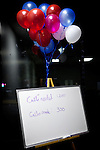 Goals are listed on a whiteboard at a Gingrich presidential campaign phone bank in Reno, Nev., January 31, 2012.
