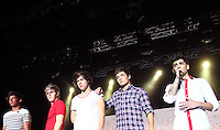 The boy band One Direction performs live in Sydney, Australia. From left to right, LIAM PAYNE, NIALL HORAN, HARRY STYLES, LOUIS TOMLINSON and ZAYN MALIK.
