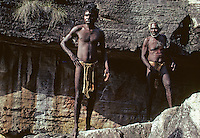 Tribal Aboriginal in Arnhem land, Australia