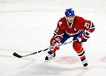 17 October 2009: Montreal Canadiens right wing forward Brian Gionta in first period action against the Ottawa Senators at the Bell Centre in Montreal, Quebec, Canada. The Senators defeated the Canadiens 3-1. Mandatory Credit: Ed Wolfstein Photo