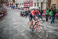 Fabio Felline (ITA/Trek-Segafredo) rolling in<br /> <br /> 11th Strade Bianche 2017