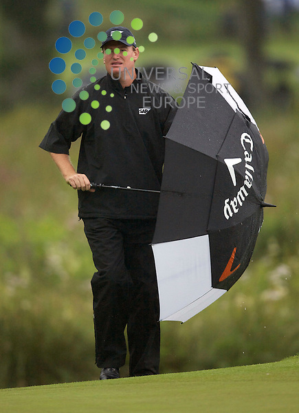 The Barclays Scottish Open Championship 2010 at Loch Lomond. (2nd Round).09-07-10.. South African Ernie Els   , in today's  2nd round of The Barclays Scottish Open Championship...At Loch Lomond, Scotland ...Picture, Mark Davison/Universal News and Sport.