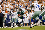 15 Sept 2008: Philadelphia Eagles cornerback Asante Samuel #22 runs the ball he intercepted during the game against the Dallas Cowboys on September 15th, 2008. The Cowboys beat the Eagles 41-37 at Texas Stadium in Irving, Texas.