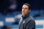 02 November 2016: Carson-Newman head coach Mike Mincey. The University of North Carolina Tar Heels hosted the Carson-Newman University Lady Eagles at Carmichael Arena in Chapel Hill, North Carolina in a 2016-17 NCAA Women's Basketball exhibition game. UNC won the game 96-70.