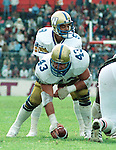 John Bonk Winnipeg Blue Bombers 1983. Copyright photograph Scott Grant