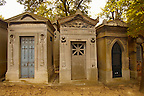 Paris France - Pere Lachaise - cemetery