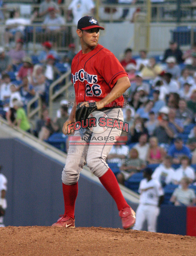 June 28, 2003:  Robby Read of the Lakewood Blueclaws during a game at Classic Park in Eastlake, Ohio.  Photo by:  Mike Janes/Four Seam Images
