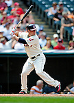 6 September 2009: Cleveland Indians' left fielder Matt LaPorta in action against the Minnesota Twins at Progressive Field in Cleveland, Ohio. The Indians defeated the Twins 3-1 to take the rubber match of their three-game weekend series. Mandatory Credit: Ed Wolfstein Photo