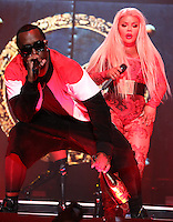 NEW YORK, NY - SEPTEMBER 4, 2016 ASAPPuff Daddy & LiL Kim perform at the Bad Boy Reunion Concert at Madison Square Garden, September 4, 2016 in New York City. Photo Credit: Walik Goshorn / Mediapunch