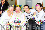 Betty, Muriel, Eilish and Teaga O'sullivan Killarney at the Killarney Glow Neon run on Saturday night