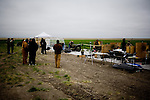 Scenes from the Rocky Mountain Fifty Caliber Shooting Associations 2009 Machine Gun Shoot held on private land near Cheyenne Wells, Colo.  The shoot features long-range rifles, semi and fully automatic machine guns, and a host of exotic firearms.  Private citizens may possess fully automatic weapons after completing a licensing process.  The shoot is one of a half-dozen similar events held each year around the United States.  Participants at the Cheyenne Wells event come from as far away as Australia.