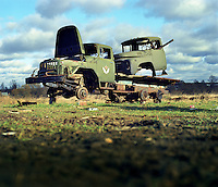Old Russian army trucks.. CHECK with MRM/FNA