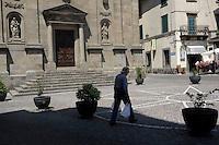 Castel del Piano.<br /> La Chiesa della Prepositura.