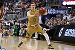 11 March 2016: Notre Dame's Rex Pflueger. The University of North Carolina Tar Heels played the University of Notre Dame Fighting Irish at the Verizon Center in Washington, DC in the Atlantic Coast Conference Men's Basketball Tournament semifinal and a 2015-16 NCAA Division I Men's Basketball game. UNC won the game 78-47.
