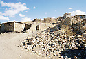 Irak 2000.Les ruines d'Hanab.   Iraq 2000.Hanab, a village destroyed by the Iraki army