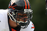 30 September 2006: Virginia's Chris Long. The Duke University Blue Devils lost 37-0 to the University of Virginia Cavaliers at Wallace Wade Stadium in Durham, North Carolina in an Atlantic Coast Conference NCAA Division I College Football game.