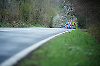 Liege-Bastogne-Liege 2012.98th edition..peloton approaching