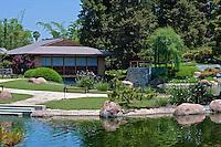 Japanese Garden, Tillman Water Reclamation Plant, Woodley Park, Lake Balboa, Van Nuys, CA.