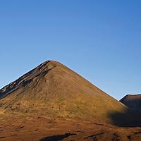 Glamaig and Red Cuillin hills, Sligachan, Isle of Skye, Scotland.