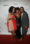Scarlet Cord Entertainment's CEO Carla Debbie Alleyne, Karen Dupiche and Designer Marco Hall attend COVERGIRL Queen Collection Presents The 2nd Annual Blackout Awards Held at Newark Hilton Gateway, NJ 6/12/11