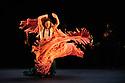 London, UK. 01.03.2015. Compania Manuel Linan presents NOMADA at Sadler's Wells, as part of the Flamenco Festival London 2015. the company is: Manuel Linan, Anabel Moreno, Agueda Saavedra, Immaculada Aranda, Jose Maldonado, Jonatan Miro. Photograph © Jane Hobson.