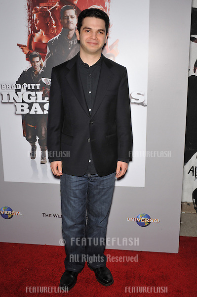"Samm Levine at the DVD launch of his movie ""Inglourious Basterds"" at the New Beverly Cinema, Los Angeles..December 14, 2009  Los Angeles, CA.Picture: Paul Smith / Featureflash"