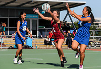 Netball, Kings College v McAuley, Auckland Netball Centre, Auckland, New Zealand. Saturday 6 May 2017. Photo: Simon Watts/www.bwmedia.co.nz for Kings College