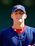 16 September 2007: Washington Nationals pitcher Ross Detwiler warms up prior to facing the Atlanta Braves at Robert F. Kennedy Memorial Stadium in Washington, DC. The Braves shut out the Nationals 3-0 in the third game of their 3-game series...Mandatory Photo Credit: Ed Wolfstein Photo