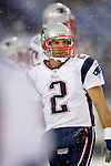 New England Patriots backup quarterback Doug Flutie warms up prior to a game against the Buffalo Bills at Ralph Wilson Stadium in Orchard Park, NY, on December 11, 2005 . The Patriots defeated the Bills 35-7. Mandatory Photo Credit: Ed Wolfstein