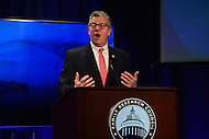 Washington, DC - January 27, 2017: U.S. Rep. Randy Hultgren of Illinois speaks during the Family Research Council's 12th Annual ProLifeCon Digital Action Summit at the FRC headquarters in the District of Columbia, January 27, 2017. The online event took place before the March for Life on the National Mall. (Photo by Don Baxter/Media Images International)