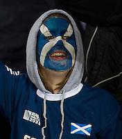 Rugby World Cup Auckland England v Scotland  Pool B 01/10/2011.Scotland Fan.Photo  Frey Fotosports International/AMN Images