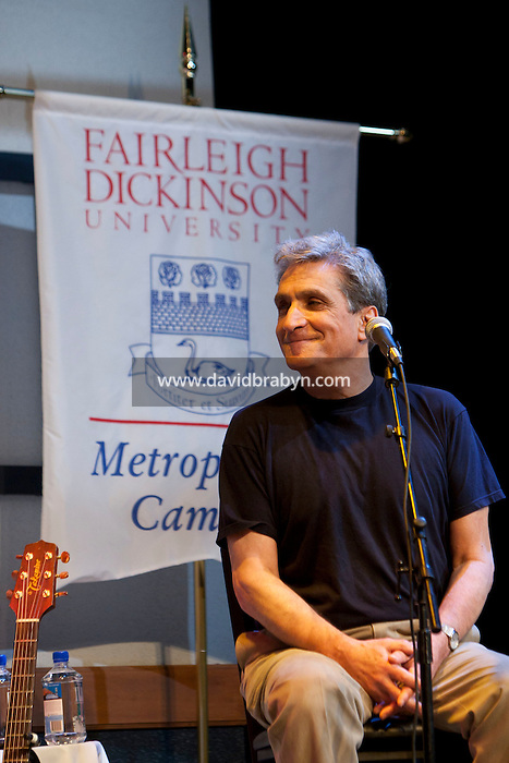 Former US Poet Laureate Robert Pinsky talks at the 2010 literary and music festival WAMFest at Fairleigh Dickinson University, Madison, NJ, USA, 6 May 2010.