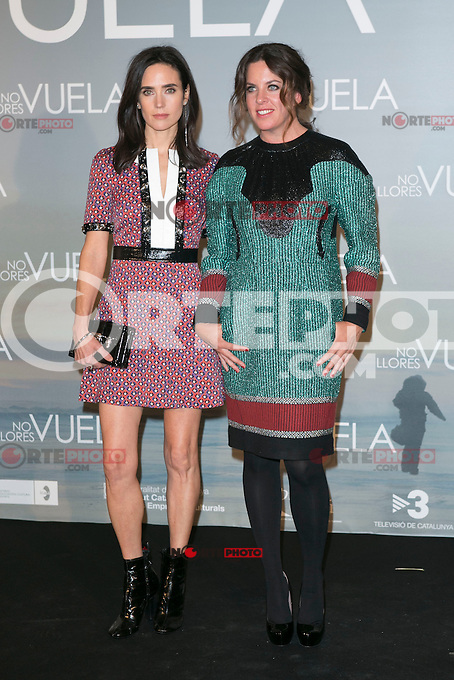 Jennifer Connelly and Claudia Llosa attends Claudia&acute;s Llosa &quot;No Llores Vuela&quot; movie premiere at Callao Cinema, Madrid,  Spain. January 21, 2015.(ALTERPHOTOS/)Carlos Dafonte) /NortePhoto<br />