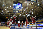 21 March 2014: The University of Oklahoma Sooners held a training session the day before playing in an NCAA Division I Women's Basketball Tournament First Round game at Cameron Indoor Stadium in Durham, North Carolina.
