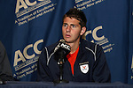 10 November 2010: Virginia's Hunter Jumper. The University of Virginia Cavaliers defeated the Wake Forest University Demon Deacons 1-0 at Koka Booth Stadium at WakeMed Soccer Park in Cary, North Carolina in an ACC Men's Soccer Tournament Quarterfinal game.