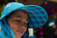 Women Vendor at the Russian Market Phnom Penh, Cambodiah