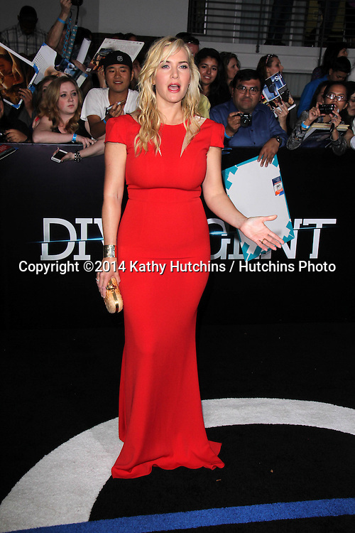 """LOS ANGELES - MAR 18:  Kate Winslet at the """"Divergent"""" Los Angeles Premiere at Bruin Theater on March 18, 2014 in Westwood, CA"""