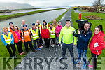 Damien Fealy  walks with Arthritis Ireland and Operation Transformation on Sunday. Pictured Front Damien Fealy with RTE Operation Transformation film Crew, Paddy Murray and Jill Walsh and Arthritis Ireland walkers Michael Moran, Pat Galvin, Gertie Barry, T J Barry, Con Spring, Ger Collins, Caroline Kennedy, Tom Barrett, Peggy Hanafin, Catherine Lawlor, Patsy Barrett, Ann O'Donnell, Jerry O'Connor